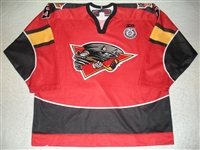 OHanley, Brian<br>Red Set 1<br>Cincinnati Cyclones 2012-13<br>#5 Size:56