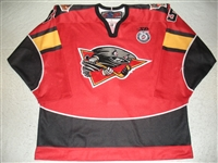 Pacan, David<br>Red Set 1<br>Cincinnati Cyclones 2012-13<br>#25 Size: 56