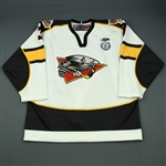Roussel, Charles-Olivier<br>White Set 1<br>Cincinnati Cyclones 2012-13<br>#3 Size: 54