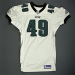 Parry, Josh * <br>White<br>Philadelphia Eagles 2005<br>#49 Size: 50-S