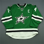 Benn, Jamie *<br>Green Set 1 w/C <br>Dallas Stars 2014-15<br>#14 Size: 58