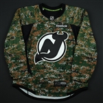 Blank - No Name or Number<br>Camouflage Military Appreciation Warm-Up - CLEARANCE<br>New Jersey Devils <br> Size: 54