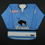 Chesson, Lisa<br>Blue Set 1<br>Buffalo Beauts 2017-18<br>#11 Size: MD