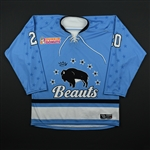 Donohue, Katherine<br>Blue Set 1<br>Buffalo Beauts 2017-18<br>#20 Size: MD
