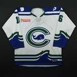 Beattie, Hanna (No Name on Back)<br>White Set 1 <br>Connecticut Whale 2017-18<br>#16 Size: LG