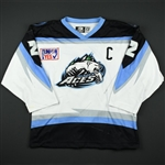 McCambridge, Keith *<br>White Set 1 w/C<br>Alaska Aces 2003-04<br>#2 Size: 58