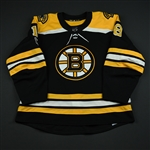 Agostino, Kenny<br>Black Set 1 w/ NHL Centennial Patch<br>Boston Bruins 2017-18<br>#18 Size: 56