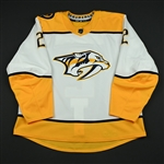 Bitetto, Anthony<br>White Set 2<br>Nashville Predators 2017-18<br>#2 Size: 56