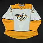 Bitetto, Anthony<br>White Set 3<br>Nashville Predators 2017-18<br>#2 Size: 56