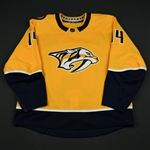 Ekholm, Mattias<br>Gold Set 1<br>Nashville Predators 2017-18<br>#14 Size: 56