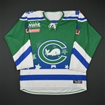 Doyle, Shannon<br>Green - Military Appreciation Day<br>Connecticut Whale 2016-17<br>#6 Size: MD
