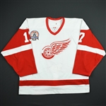 Hull, Brett *<br>White - 2002 Stanley Cup Finals Game 1 - PHOTO-MATCHED<br>Detroit Red Wings 2001-02<br>#17 Size: 56