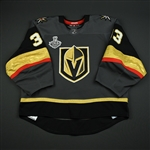 Lagace, Maxime<br>Gray Stanley Cup Final Set 1 - Back-Up Only<br>Vegas Golden Knights 2017-18<br>#33 Size: 58G