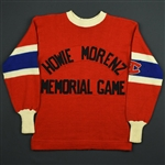 Joliat, Aurèle *<br>Red - Howie Morenz Memorial Game, November 3, 1937 at Montreal Forum<br>Howie Morenz Memorial Game 1937<br>#4 Size: NA