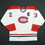 Gainey, Bob *<br>White w/C<br>Montreal Canadiens 1987-89<br>#23 Size: NA