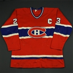 Gainey, Bob *<br>Red w/C<br>Montreal Canadiens 1981-82<br>#23