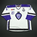 Greenop, Richard *<br>White Set 1 w/ 10th Anniversary Patch<br>Reading Royals 2010-11<br>#27 Size: 58