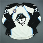 Wilson, Colin *<br>White - Photo-Matched<br>Milwaukee Admirals 2009-10<br>#33 Size: 56