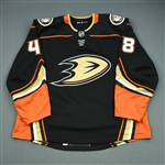 Shaw, Logan<br>Black<br>Anaheim Ducks 2017-18<br>#48 Size: 58