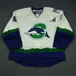 Bickel, Stu*<br>White <br>Connecticut Whale 2011-12<br>#4 Size: 58