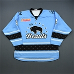 Babstock, Kelly<br>Blue Set 1<br>Buffalo Beauts 2018-19<br>#8 Size: LG