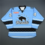 Cameranesi, Dani<br>Blue Set 1<br>Buffalo Beauts 2018-19<br>#24 Size: LG