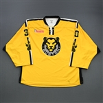 Litchfield, Madison<br>Yellow Set 1<br>Boston Pride 2018-19<br>#30 Size: G