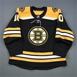 Bjork, Anders<br>Black Set 1<br>Boston Bruins 2018-19<br>#10 Size: 56