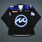 Lund, Margo<br>Black Set 1<br>Minnesota Whitecaps 2018-19<br>#16 Size: LG