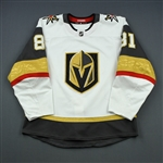 Marchessault, Jonathan<br>White Set 1 <br>Vegas Golden Knights 2018-19<br>#81 Size: 54