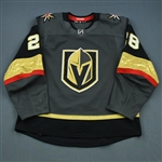 Carrier, William <br>Gray Set 2 <br>Vegas Golden Knights 2018-19<br>#28 Size: 56