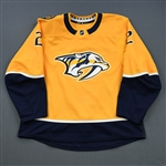 Bitetto, Anthony<br>Gold Set 2<br>Nashville Predators 2018-19<br>#2 Size: 56