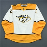Bitetto, Anthony<br>White Set 2<br>Nashville Predators 2018-19<br>#2 Size: 56