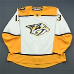 Bonino, Nick<br>White Set 1<br>Nashville Predators 2018-19<br>#13 Size: 58