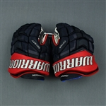 Anderson, Josh<br>Warrior Covert Gloves<br>Columbus Blue Jackets 2018-19<br>#77 Size: 13""