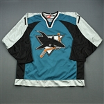Murphy, Joe *<br>Alternate - Autographed<br>San Jose Sharks 1997-98<br>#17 Size: 54