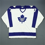 McDonald, Lanny *<br>White<br>Toronto Maple Leafs 1978-80<br>#7