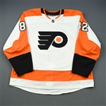 Bunnaman, Connor<br>White Set 1 - Preseason Only<br>Philadelphia Flyers 2018-19<br>#82 Size: 58