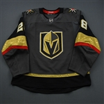 Carrier, William<br>Gray Set 3<br>Vegas Golden Knights 2018-19<br>#28 Size: 56