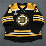 Heinen, Danton<br>Black Stanley Cup Final Set 1<br>Boston Bruins 2018-19<br>#43 Size: 56
