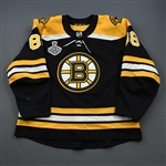 Pastrnak, David<br>Black Stanley Cup Final Set 1<br>Boston Bruins 2018-19<br>#88 Size: 56