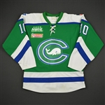 Johnson, Kaliya<br>Green Regular Season<br>Connecticut Whale 2016-17<br>#10 Size: M