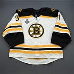 McIntyre, Zane<br>White Stanley Cup Final Set 1 - Game-Issued (GI)<br>Boston Bruins 2018-19<br>#31 Size: 60G