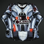 Ranger, Alexandre<br>Black Ultron Jersey - Autographed - First Period Only<br>Tulsa Oilers 2017-18<br>#10 Size: 54