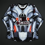 Sampair, Charlie<br>Black Ultron Jersey - Autographed - First Period Only<br>Tulsa Oilers 2017-18<br>#8 Size: 56