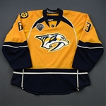 Ribeiro, Mike  *<br>Gold Set 1 w/ All-Star Game Patch<br>Nashville Predators 2015-16<br>#63 Size: 56