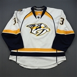 Wilson, Colin *<br>White Set 1 <br>Nashville Predators 2011-12<br>#33 Size: 56