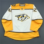 Blackwell, Colin<br>White Set 1<br>Nashville Predators 2018-19<br>#42 Size: 56