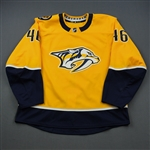 Donovan, Matt<br>Gold Set 1<br>Nashville Predators 2018-19<br>#46 Size: 56
