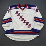 Kreider, Chris *<br>White Set 4<br>New York Rangers 2012-13<br>#20 Size: 58